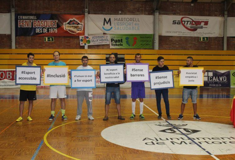11è torneig inclusiu de futbol sala vila de martorell