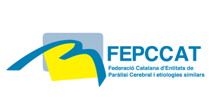 logotip federació catalana d'entitats de paràlisi cerebral i etiologies similars