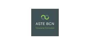 logotip aste bcn voluntariat universitari