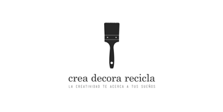 logotip crea decora recicla