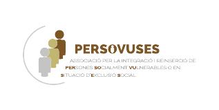 logotip persovuses associació per la integració i reinserció de persones socialment vulnerables en situació d'exclusió social